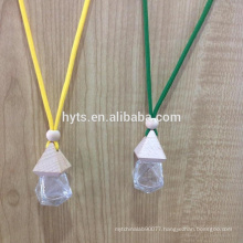 5ml irregular shape hanging car perfume bottle