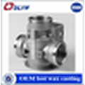 OEM competitive price steel lost wax casting valve body parts