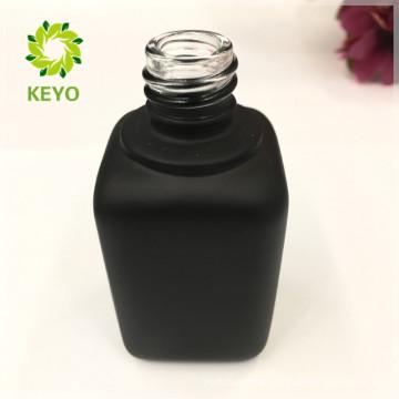 Unique 30ml 60ml 70ml luxury makeup packaging gold oval dropper bottle