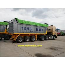 Tri-axle 32 Ton End Dump Trailers