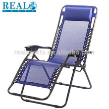 Folding Beach Chair With Headrest Elderly Folding Camping Zero Gravity Chair