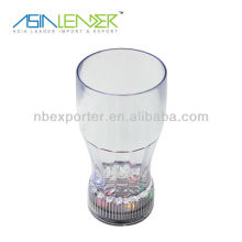 Hot sale 300ml 6LED lamp cup flashing coke cup