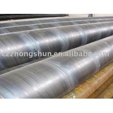 Tuyau en acier en spirale avec tuyau souple / tube soudé de grand diamètre