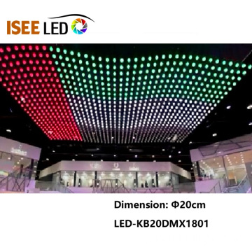 クラブ用25cm DMX Led Kinetic Spheres