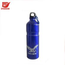 Botella de agua de aluminio personalizada deportes marca