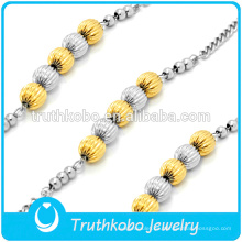 pulsera personalizada joyería de oro de dubai peregrino media luna amistad brazalete religioso brazaletes