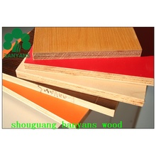 WBP Glue Melamine Faced Plywood with High Quality for Furniture