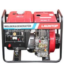 5kw 180A gerador de soldagem diesel