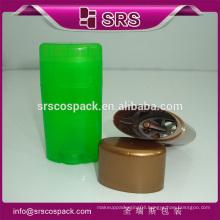 15g 50g 75g oval shape high quality bottle,deodorant stick packaging