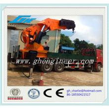 Grues à bras télescopique hydraulique largement utilisées pour grues de grand levage