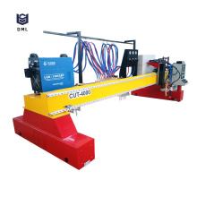 Máquina de corte a plasma CNC tipo pórtico para serviços pesados