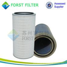 FORST Unidad de cartucho de filtro de celulosa plisada industrial de alta calidad