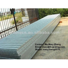 Construction steel material grating