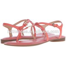 2016 Chaussures d'été Femmes Sandales Vente en gros Flat Fancy Sandal