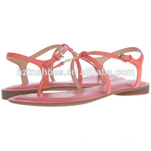 2016 Verão Sapatos Mulheres Sandálias Atacado Flat Fancy Sandal
