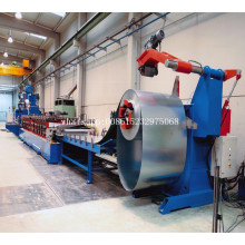 Grain bin storage steel silo machine