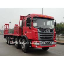 JAC 30tons heavy flat truck, 8x4 flat bed truck