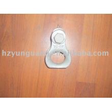 cable de fibra óptica del dedal de la guarnición que cabe las líneas aéreas que caben la instalación de hardware de la línea del clip de cable