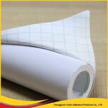 Removable Glue Pvc White Vinyl