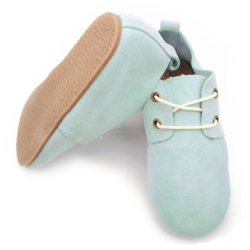 New Styles Fashion Leather Kids Rubber Oxford Shoes