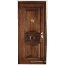 Puerta de acero inoxidable blindada puerta de China proveedor (C3012)