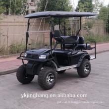 Chariot de golf électrique de 4 places de 3000W
