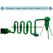 China 300-1300kgs / H Luftströmungs-Sägemehl-Rohr-Trockner