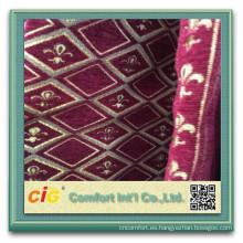 Jacquard Polyester Sofa Fabric funda de sofá chenille
