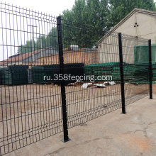 Green+PVC+Coated+Welded+Wire+Mesh+Fence