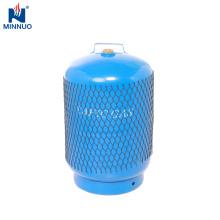 Cilindro de gas portátil de 5kg glp, tanque de propano, botella de gas