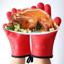 Custom Heat-resistant Silicone Kitchen Glove