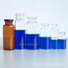 Flacon pharmaceutique en verre