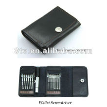 Optical Wallet Screwdrivers Set Promotional Optical Gift