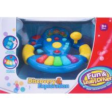 Музыкальная игрушка с рулевым колесом
