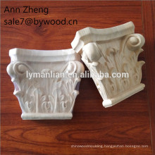 solid wood Carving timber corbel Traditional Wood carved Capitals