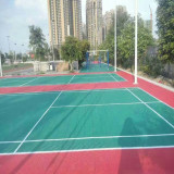 Outdoor portable pp interlocking sport tiles for badminton court