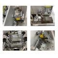 Masque semi-automatique n95 faisant la machine