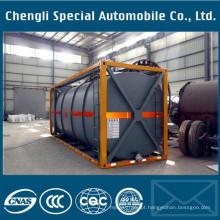 Recipiente 20FT do tanque do ISO do recipiente do tanque do ISO do material químico do LPG