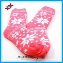 2015 новый зимний хлопок нечеткие толстые дома крытый теплый противоскользящие носки