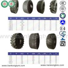Neumático agrícola Bias para la posición delantera y trasera del tractor