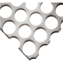 Malla metálica perforada probada ISO