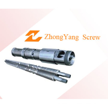 Conical Twin Screw and Barrel for Wire Zytc