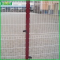 Welded 3d wire fence panel
