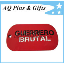 Custom Metal Dog Tag with Soft Enamel Color