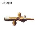 La valve à gaz en laiton convient pour le chauffage au gaz