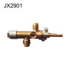 La válvula de gas de latón se adapta al calentador de gas