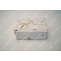 Natural handmade paper bow tie gift box