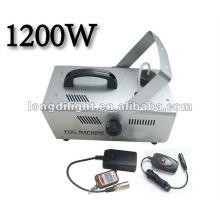 DMX Continuous Fogging Timer Volume mit Fernbedienung 1200W Fogger Haze Machine Hazer