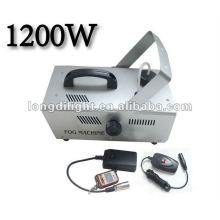 DMX Contínuo Fogging Timer Volume com Remote 1200W Fogger Haze Machine Hazer