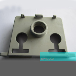 Insulated Controller panel compression mold